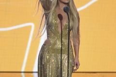 Jennifer Lopez at the 2018 MTV