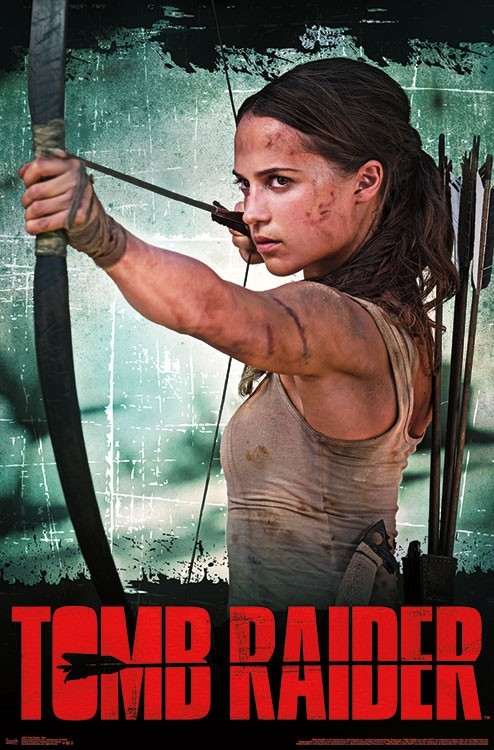 Tomb Raider A Game And Two Posters For The Film Wirewag