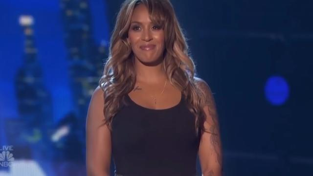 Glennis Grace Happy That She Can Go Home After Final
