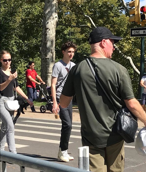 Lily Rose-Depp meets with Timothy Shalame – they were caught