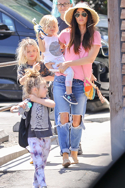 Megan Fox celebrates Mother's Day with her three children ...