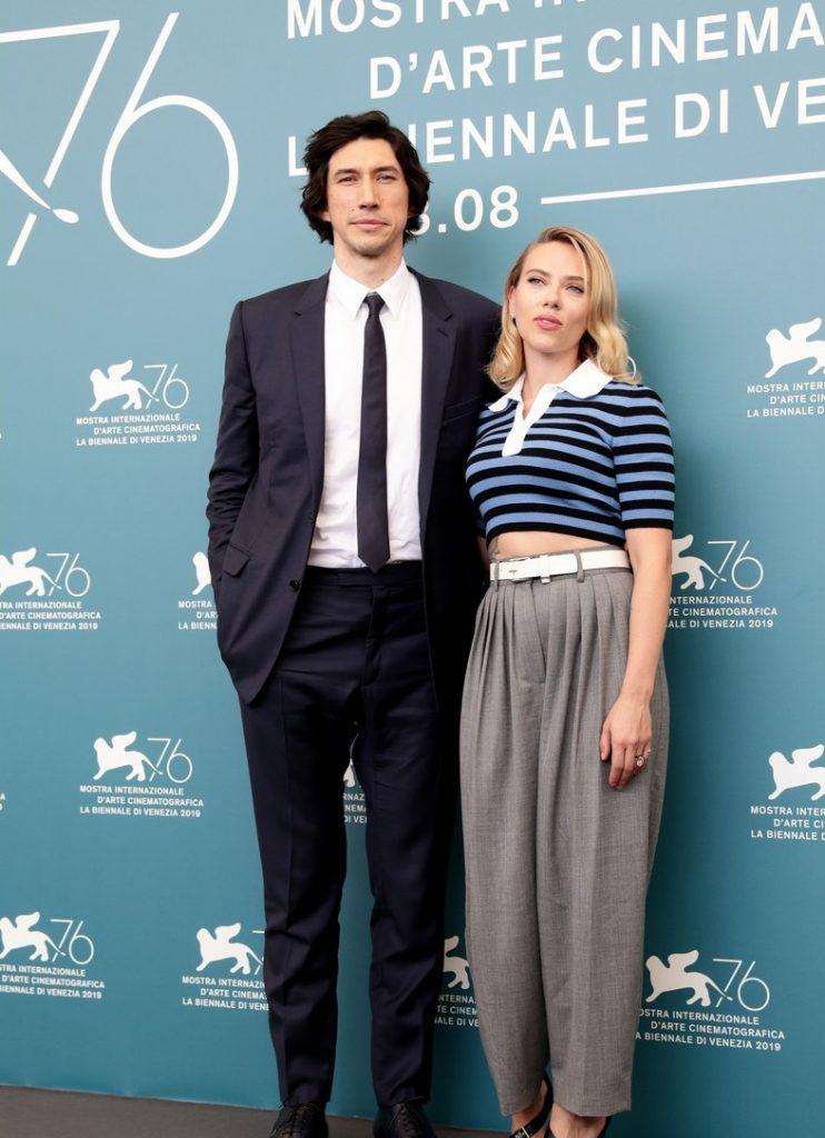 "Scarlett Johansson and Adam Driver present ""Marriage Story"